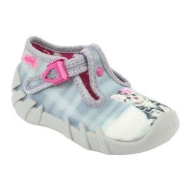 Încălțăminte pentru copii Kado Befado 110P365 roz gri 1
