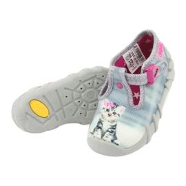 Încălțăminte pentru copii Kado Befado 110P365 roz gri 4