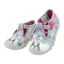 Încălțăminte pentru copii Kado Befado 110P365 roz gri 2