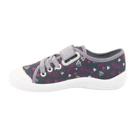 Încălțăminte pentru copii Befado 251Y138 roz gri multicolor 3