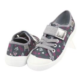 Adidași pentru copii Befado 251Y138 alb roz gri 4