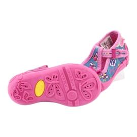 Pantofi pentru copii Befado roz 213P113 albastru multicolor 6