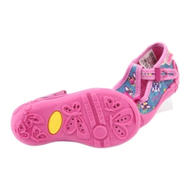 Pantofi pentru copii Befado roz 213P113 albastru 5
