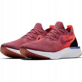 Pantofi de alergare Nike Epic React Flyknit W AQ0070 601 roșu 1
