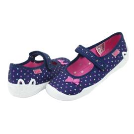 Încălțăminte pentru copii Befado 114Y372 albastru marin roz 6
