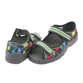 Pantofi pentru copii Befado 969X140 gri multicolor verde 6