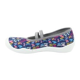 Încălțăminte pentru copii Befado 116Y260 albastru marin roz multicolor 4