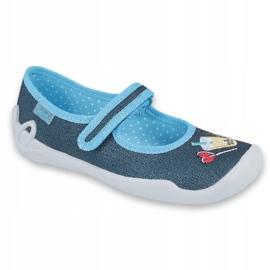 Încălțăminte pentru copii Befado 114Y385 albastru marin albastru 1