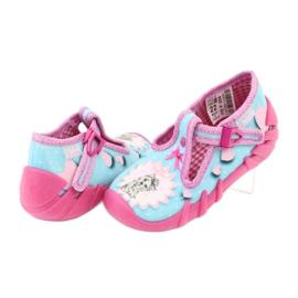 Încălțăminte pentru copii Befado 110P358 albastru roz 4