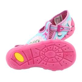Încălțăminte pentru copii Befado 110P358 albastru roz 5