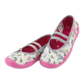 Încălțăminte pentru copii Befado 116X266 maro roz gri multicolor 2