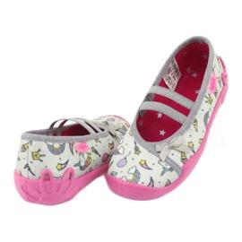 Încălțăminte pentru copii Befado 116X266 maro roz gri multicolor 3