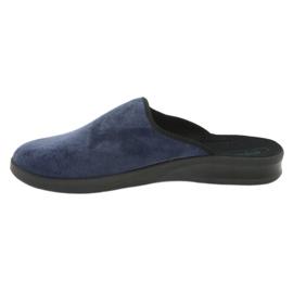 Befado bărbați pantofi pu 548M018 negru bleumarin 3