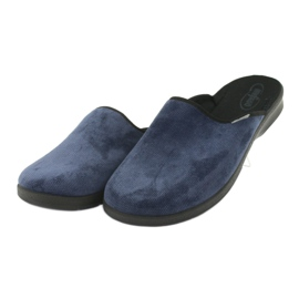 Befado bărbați pantofi pu 548M018 negru bleumarin 4