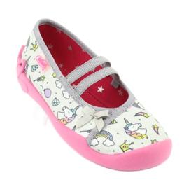Încălțăminte pentru copii Befado 116X266 roz gri 1