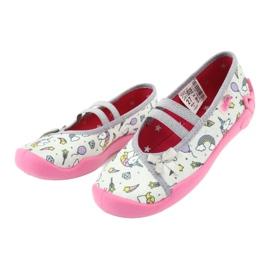 Încălțăminte pentru copii Befado 116X266 roz gri 3