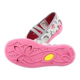 Încălțăminte pentru copii Befado 116X266 roz gri 5