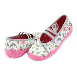 Încălțăminte pentru copii Befado 116X266 roz gri 4
