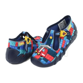 Încălțăminte pentru copii Befado 110P373 roșu albastru multicolor 5