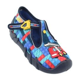 Încălțăminte pentru copii Befado 110P373 roșu albastru multicolor 2