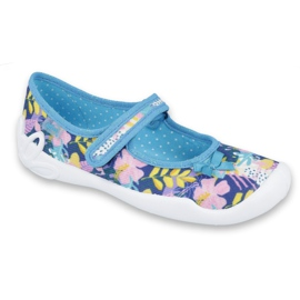 Încălțăminte pentru copii Befado 114Y386 albastru roz multicolor 1