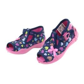 Încălțăminte pentru copii Befado 213P118 albastru marin roz multicolor 4