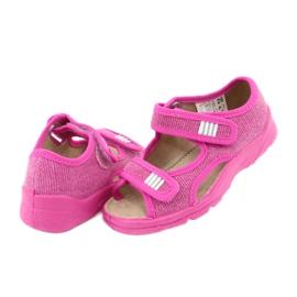 Încălțăminte pentru copii Befado 113X009 roz 4