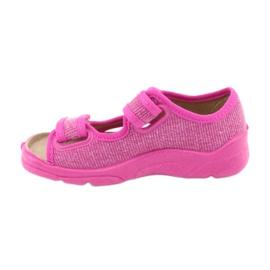 Încălțăminte pentru copii Befado 113X009 roz 2