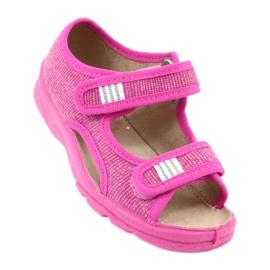 Încălțăminte pentru copii Befado 113X009 roz 1