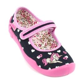 Încălțăminte pentru copii Befado 114X355 negru roz multicolor 2