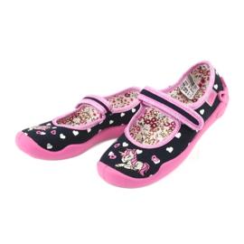 Încălțăminte pentru copii Befado 114X355 negru roz multicolor 4
