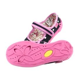 Încălțăminte pentru copii Befado 114X355 negru roz multicolor 6