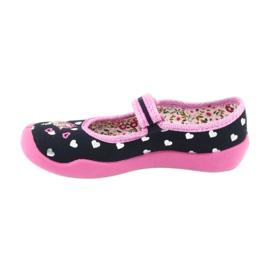 Încălțăminte pentru copii Befado 114X355 negru roz multicolor 3