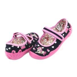 Încălțăminte pentru copii Befado 114X355 negru roz multicolor 5