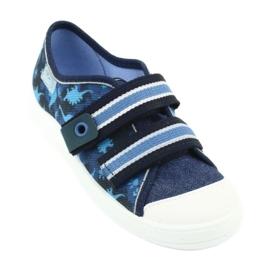 Încălțăminte pentru copii Befado 672X066 albastru marin albastru 2