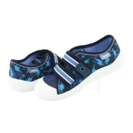 Încălțăminte pentru copii Befado 672X066 albastru marin albastru 5
