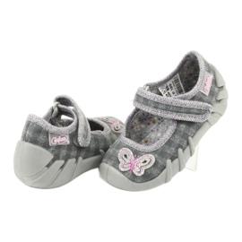 Încălțăminte pentru copii Befado 109P189 roz gri 5