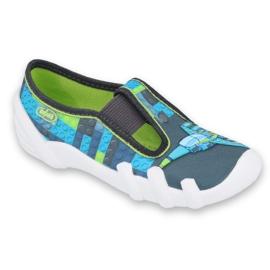 Încălțăminte pentru copii Befado 290X192 albastru gri multicolor verde 1