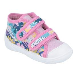 Pantofi pentru copii Befado portocalii 212P064 roz multicolor 1