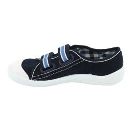 Încălțăminte pentru copii Befado 672Y049 alb albastru marin albastru 2