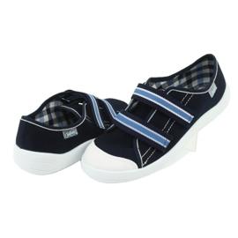 Încălțăminte pentru copii Befado 672Y049 alb albastru marin albastru 4
