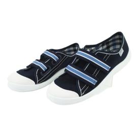 Încălțăminte pentru copii Befado 672Y049 alb albastru marin albastru 3