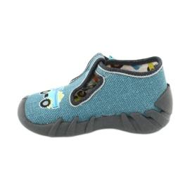 Încălțăminte pentru copii Befado 110P355 multicolor albastru gri 3