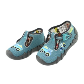 Încălțăminte pentru copii Befado 110P355 multicolor albastru gri 4