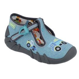 Încălțăminte pentru copii Befado 110P355 multicolor albastru gri 1