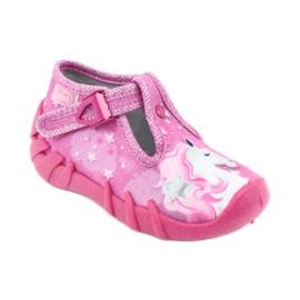 Încălțăminte pentru copii Befado 110P364 roz gri 1