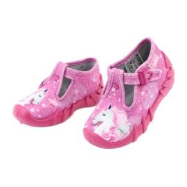 Încălțăminte pentru copii Befado 110P364 roz gri 3