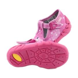 Încălțăminte pentru copii Befado 110P364 roz gri 5