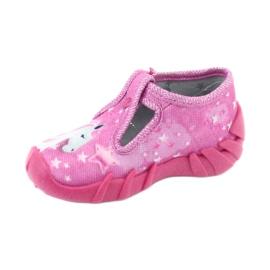 Încălțăminte pentru copii Befado 110P364 roz gri 2