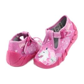 Încălțăminte pentru copii Befado 110P364 roz gri 4